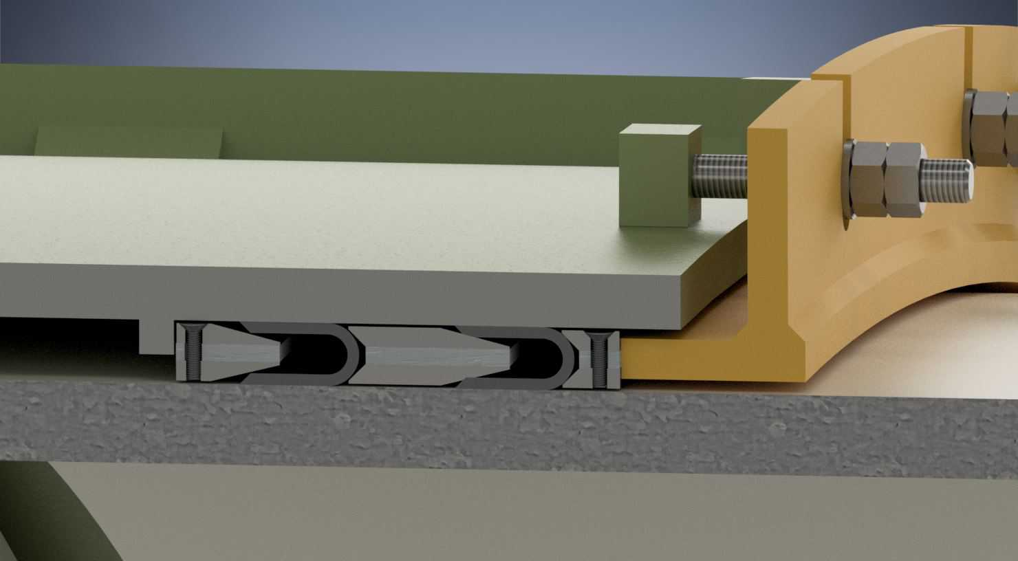 Expansion joints and spiral case seals
